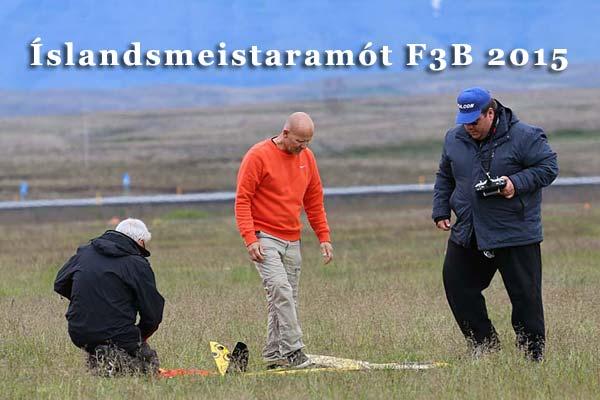 Íslandsmeistaramótið í F3B 2015