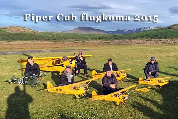 Piper Cub flugkoma 2015