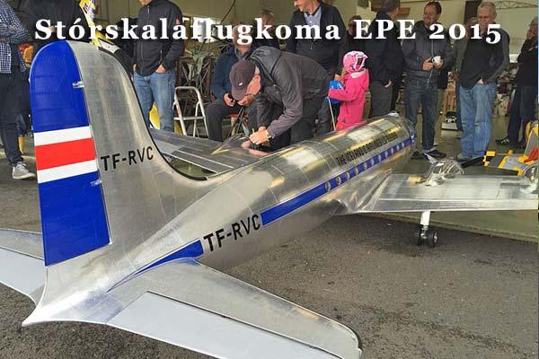 Stórskalaflugkoma EPE 2015