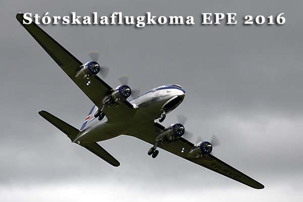 Stórskalaflugkoma EPE 2016