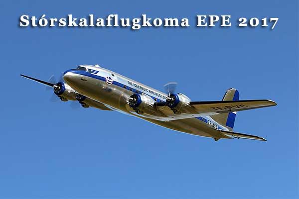 Stórskalaflugkoma EPE 2017
