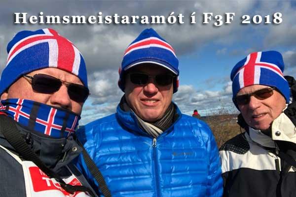 Heimsmeistaramótið í F3F 2018