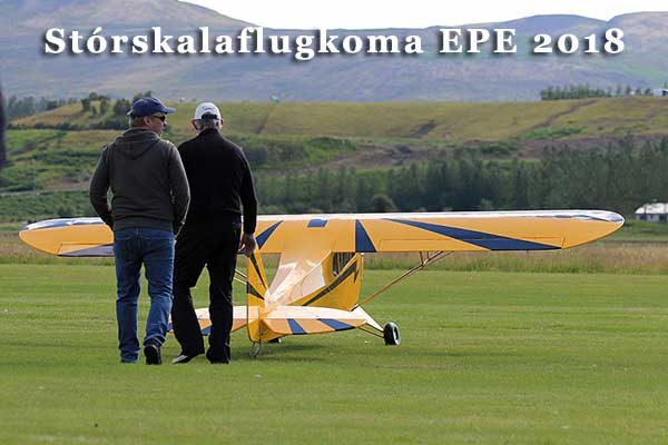 Stórskalaflugkoma EPE 2018