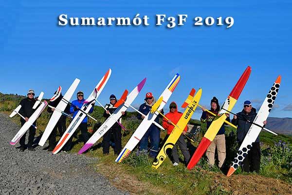 Sumarmót F3F 2019