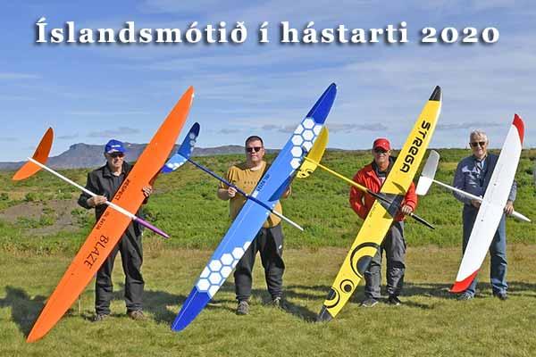 Íslandsmótið í hástarti(F3B) 2020