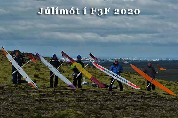 Júlímót F3F 2020