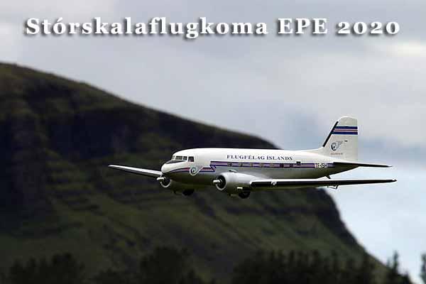 Stórskalaflugkoma Einars Páls 2020