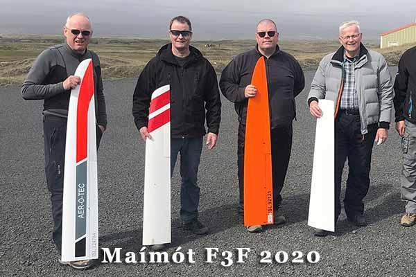 Maímótið í F3F 2020