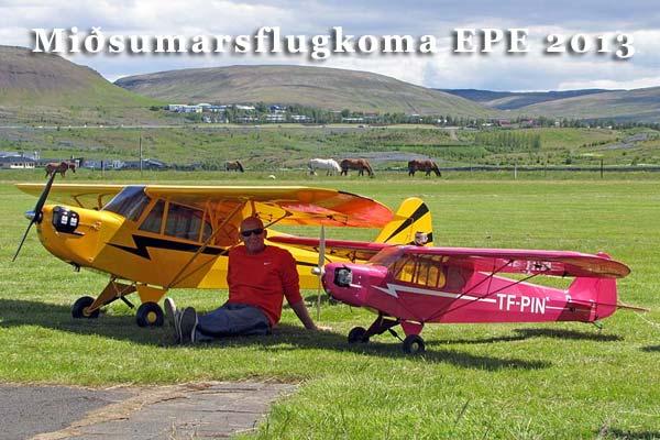 Miðsumarsflugkoma EPE 2013